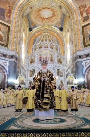 Пятая годовщина интронизации Святейшего Патриарха Московского и всея Руси КИРИЛЛА