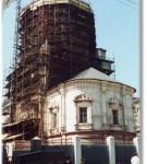 В 1995 году начаты работы по воссозданию купола
